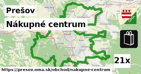ilustračný obrázok k Nákupné centrum, Prešov