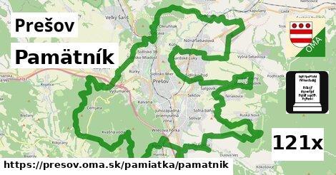 Pamätník, Prešov