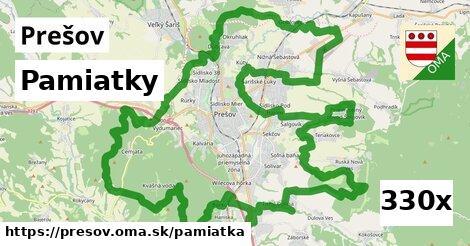 pamiatky v Prešov