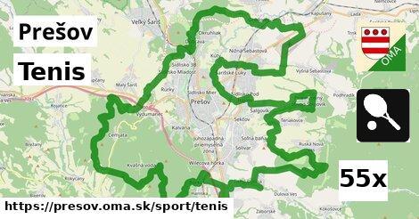Tenis, Prešov