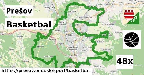 basketbal v Prešov