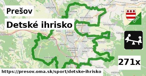 ilustračný obrázok k Detské ihrisko, Prešov