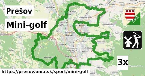 ilustračný obrázok k Mini-golf, Prešov