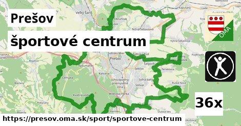 ilustračný obrázok k športové centrum, Prešov