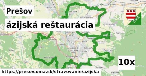 ázijská reštaurácia, Prešov