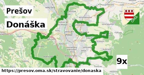 Donáška, Prešov