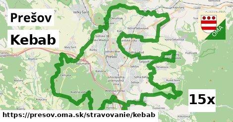 Kebab, Prešov