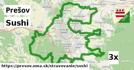 Sushi, Prešov