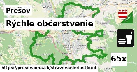 rýchle občerstvenie v Prešov
