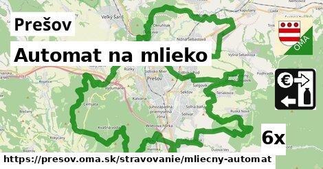 automat na mlieko v Prešov