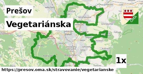 vegetariánska v Prešov