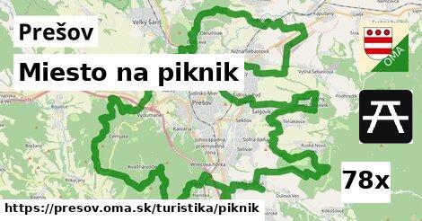 miesto na piknik v Prešov