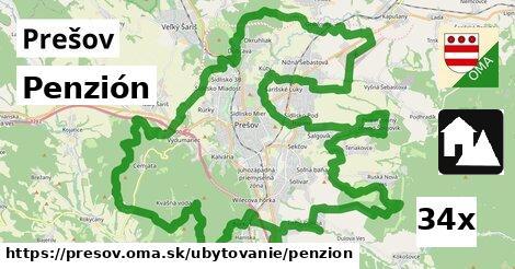 Penzión, Prešov