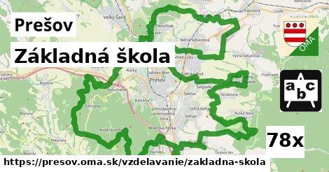 ilustračný obrázok k Základná škola, Prešov
