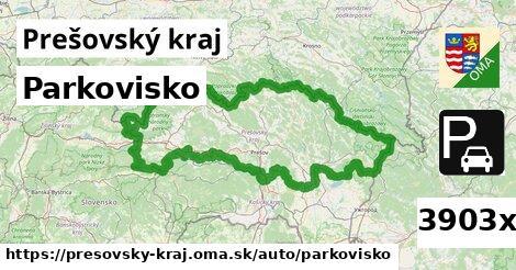 parkovisko v Prešovský kraj
