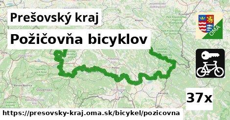 ilustračný obrázok k Požičovňa bicyklov, Prešovský kraj