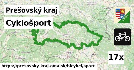 ilustračný obrázok k Cyklošport, Prešovský kraj