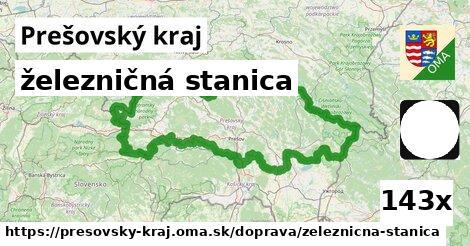 železničná stanica v Prešovský kraj