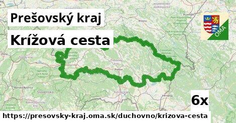 krížová cesta v Prešovský kraj