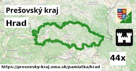 ilustračný obrázok k Hrad, Prešovský kraj