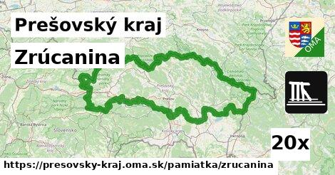 ilustračný obrázok k Zrúcanina, Prešovský kraj