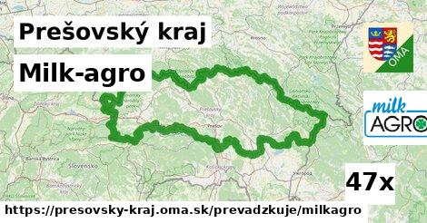 Milk-agro v Prešovský kraj