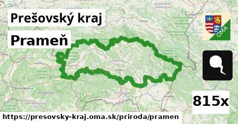 prameň v Prešovský kraj