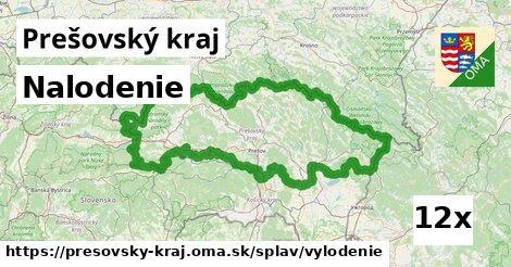 nalodenie v Prešovský kraj