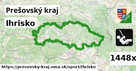 ihrisko v Prešovský kraj