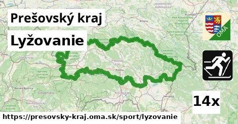 lyžovanie v Prešovský kraj