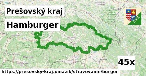 ilustračný obrázok k Hamburger, Prešovský kraj