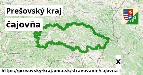 ilustračný obrázok k čajovňa, Prešovský kraj