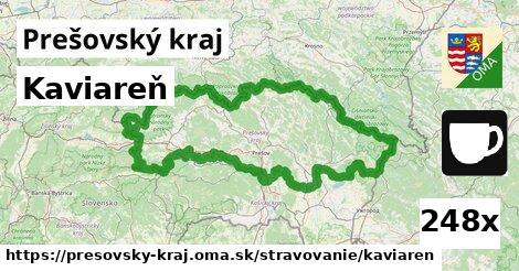 kaviareň v Prešovský kraj