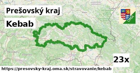 ilustračný obrázok k Kebab, Prešovský kraj