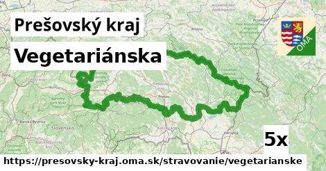 vegetariánska v Prešovský kraj