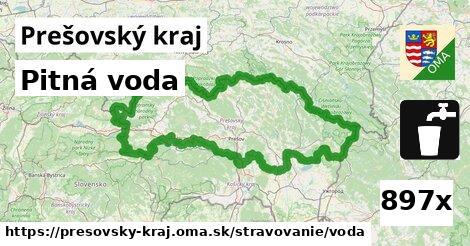 pitná voda v Prešovský kraj
