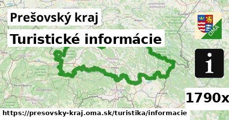 turistické informácie v Prešovský kraj