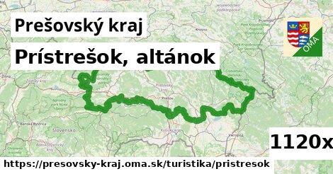 prístrešok, altánok v Prešovský kraj