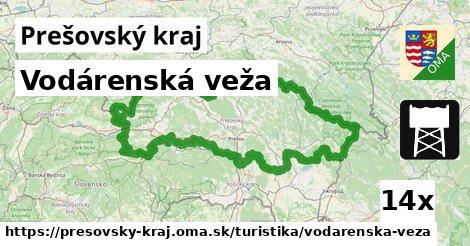 ilustračný obrázok k Vodárenská veža, Prešovský kraj