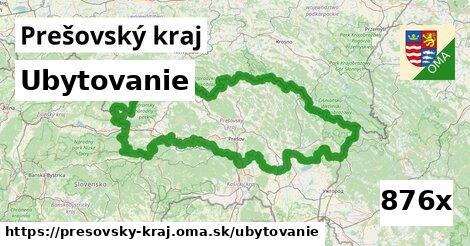 ubytovanie v Prešovský kraj