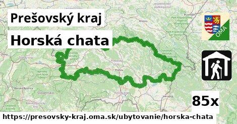 horská chata v Prešovský kraj
