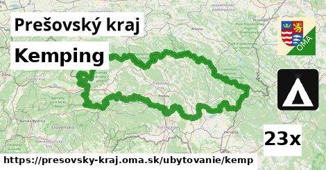 ilustračný obrázok k Kemping, Prešovský kraj