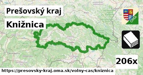 ilustračný obrázok k Knižnica, Prešovský kraj