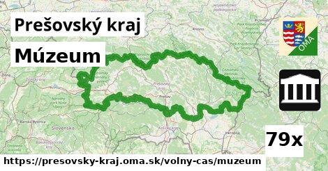 ilustračný obrázok k Múzeum, Prešovský kraj