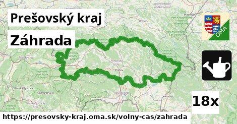 ilustračný obrázok k Záhrada, Prešovský kraj