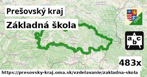 základná škola v Prešovský kraj