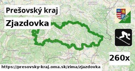 zjazdovka v Prešovský kraj