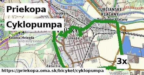 cyklopumpa v Priekopa