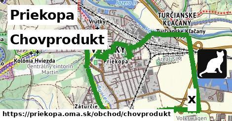 chovprodukt v Priekopa