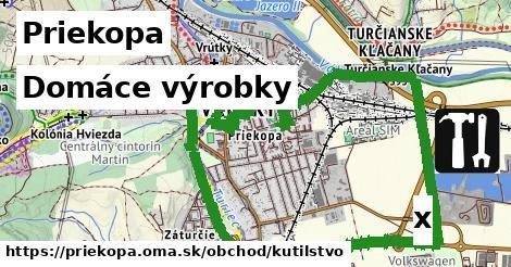 domáce výrobky v Priekopa